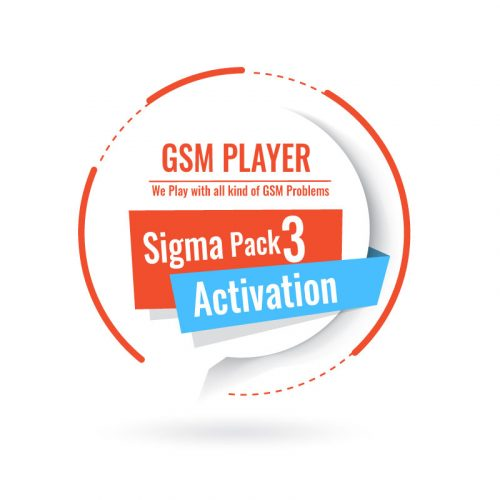 Sigma Pack 3 Activation