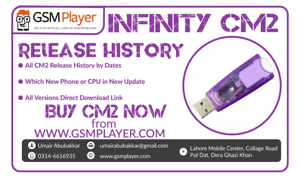 Chinese Miracle 2 (CM2) Release History