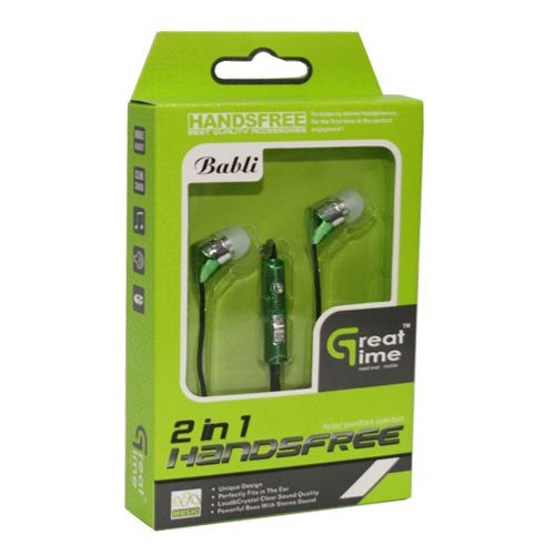Great Time Babli 2 In 1 Universal Earphones