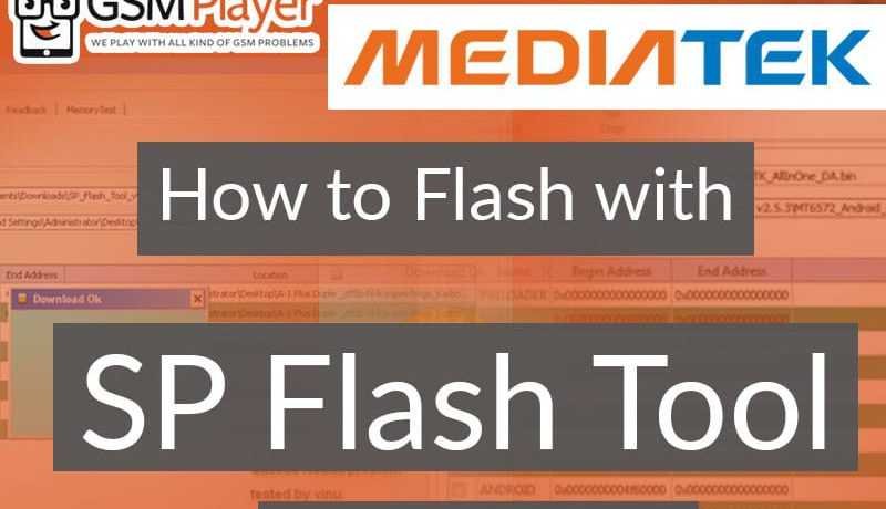 How to Flash MTK China Mobiles with SP Flash Tool