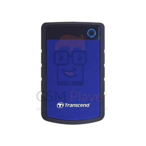 Transcend External Hard Drive 3.0 - 4TB - Usb 25H3 - Navy Blue