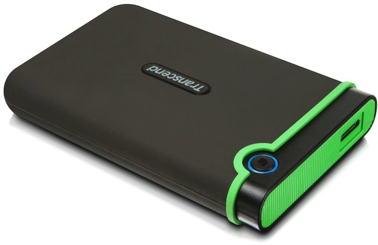 Transcend External Hard Drive 3.