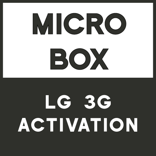 Micro Box LG 3G Activation
