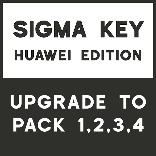 Sigma Huawei Edition Upgrade to Sigma Key with Pack 1, 2, 3, 4