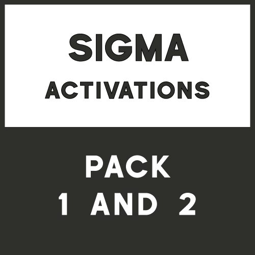 Sigma Box Activation - Pack 1 and Pack 2